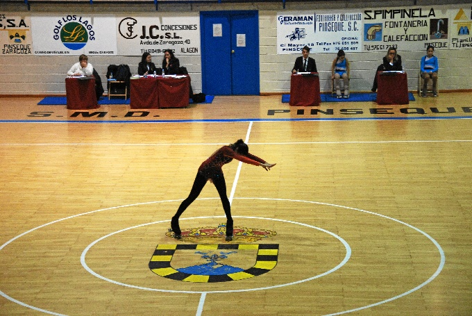 Un total de 180 patinadores hace de la II Copa de Aragón de patinaje artístico un gran éxito
