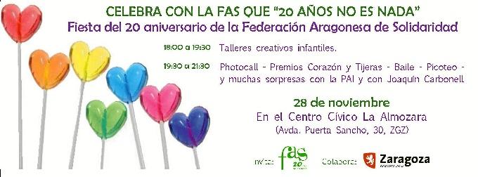 La FAS celebra su 20 aniversario