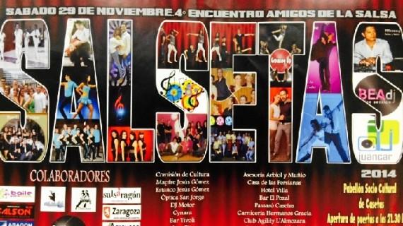 Las escuelas de salsa de Zaragoza se reúnen en el IV Congreso de Salsetas