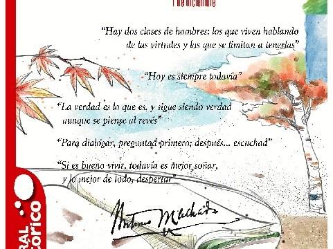 El Casco Histórico homenajea a Antonio Machado