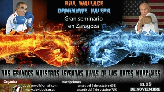 El varias veces campeón de mundo de Full Contact, Dominique Valera, llega a Zaragoza