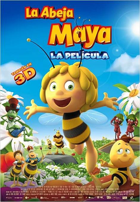 Ejea proyecta este fin de semana 'La abeja Maya'y 'Ahí os quedáis'
