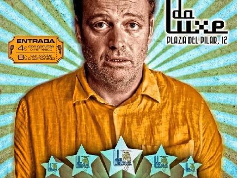 Pablo Carbonell actúa este sábado en la 'da Luxe'
