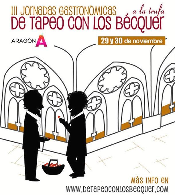 La Comarca de Tarazona y el Moncayo organiza las III Jornadas Gastronómicas 'De tapeo con los Bécquer'