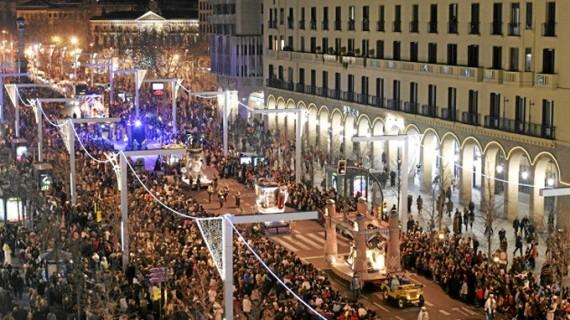 La Cabalgata de Reyes de Zaragoza contará este año con 3.000 sillas para ver el espectáculo en primera fila