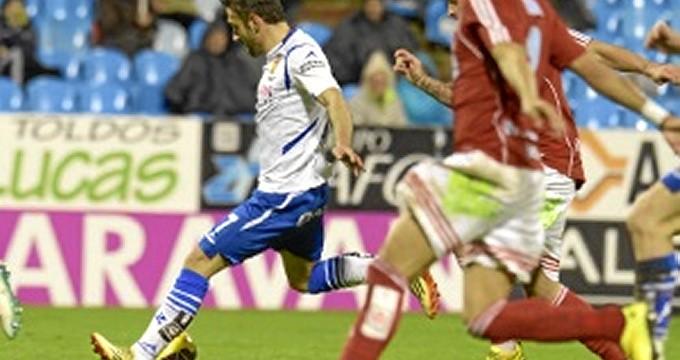 Victoria del Real Zaragoza ante la Ponferradina por cuatro goles a uno
