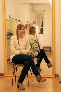 Martha Peters en su estudio. / Foto: Nerea Beatove.
