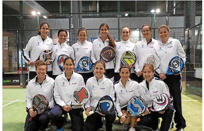El Real Zaragoza Club de Tenis femenino, Mejor Club FAP 2014
