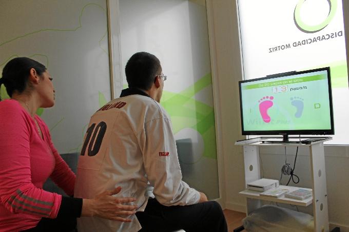 Ocho niños con diversidad funcional participan en tratamientos en los que la Nintendo Wii es la herramienta principal / Foto: AIDIMO