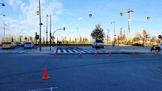 La Almozara cuenta con una nueva salida del distrito a través de la avenida Pablo Gargallo