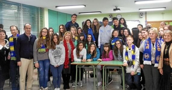Quince alumnos bielorrusos visitan Zaragoza para convivir con alumnos locales