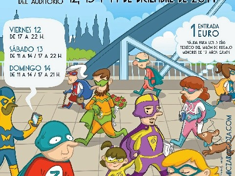 El Salón del Cómic llega a Zaragoza