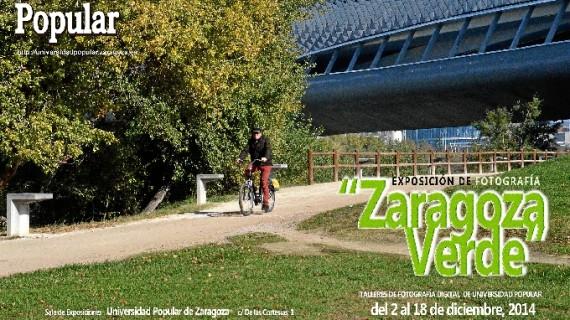 'Zaragoza Verde', una exposición fotográfica comprometida con el medio ambiente