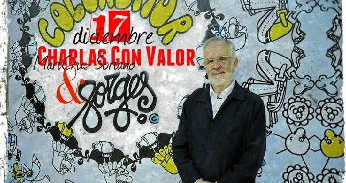 El humorista Forges, en las 'Charlas con Valor' de Zaragoza
