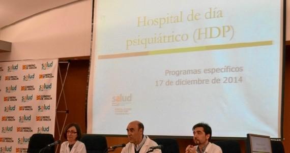 El Hospital Clínico de Zaragoza, pionero en tres nuevos programas de psiquiatría en Aragón