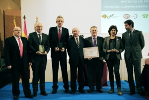 Entrega de premios. / Foto: Aragón_hoy.