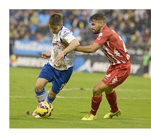 El Real Zaragoza suma los tres puntos en La Romareda.