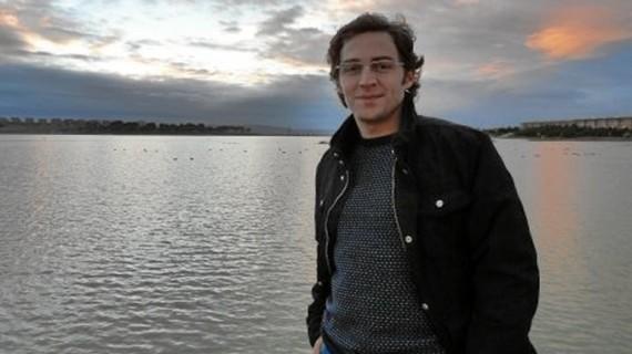 El escritor ejeano Juan Herranz presenta su nueva novela 'Real Zaragoza 2.0'