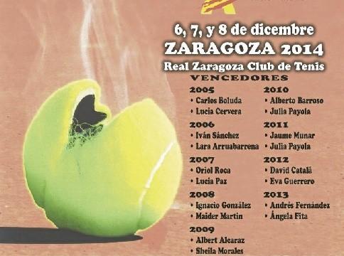 El X Máster Nacional Infantil de tenis se disputa en Zaragoza