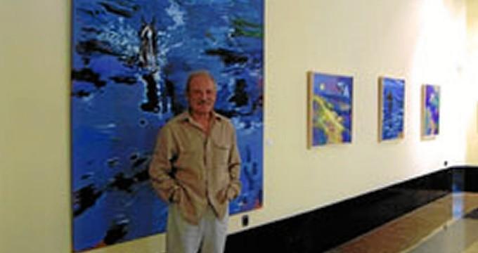 La exposición 'Obra sobre papel' de Natalio Bayo se muestra en La Almunia