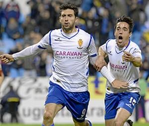 El Real Zaragoza vence por dos goles al Girona.