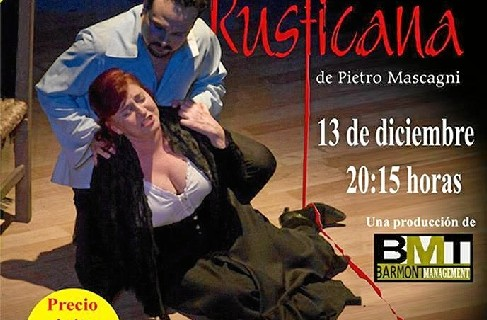 Llega a Zaragoza la ópera 'Cavalleria Rusticana'