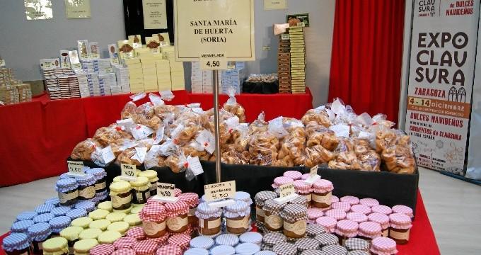 Conventos de toda España venden sus dulces en la II Edición de Expoclausura en Zaragoza