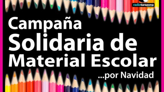 Tarazona organiza una campaña de recogida de material escolar