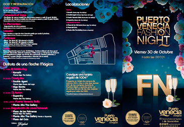 Puerto Venecia celebra  su Fashion Night