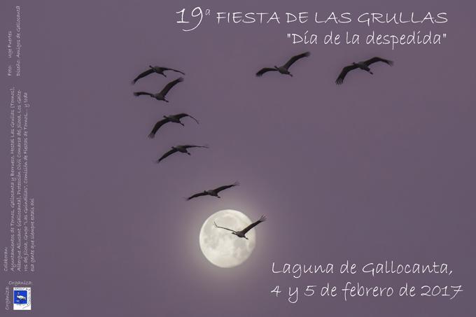 La Fiesta de las Grullas alcanza su 19 edición los días 4 y 5 de febrero