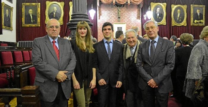 Apertura del curso académico de la Real Academia de Medicina de Zaragoza