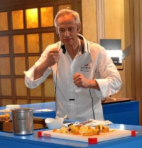 El chef Jesús Almagro en el Foro Gastronomía y Salud.