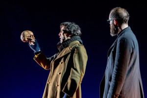 Escena de 'Hamlet'. / Foto: Ceferino López.