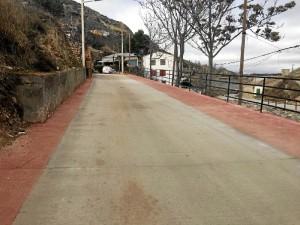 Renovada la calle Barrio de la Rosa de Calatayud.