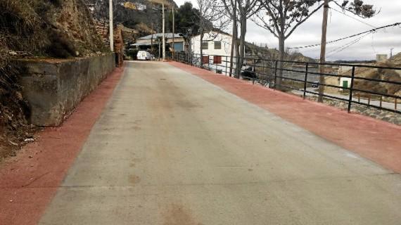 Renovada la calle Barrio de la Rosa de Calatayud