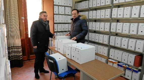 La cubierta del archivo municipal de la Virgen del Río será rehabilitada