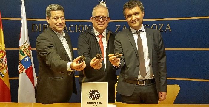 Zaragoza será la capital internacional de la trufa gracias a la feria 'Trufforum'