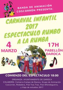 CARNAVAL INFANTIL daroca 2017