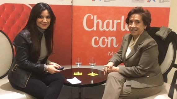 """Victoria Prego: """"Zaragoza es una ciudad magnífica, potente y preciosa"""""""