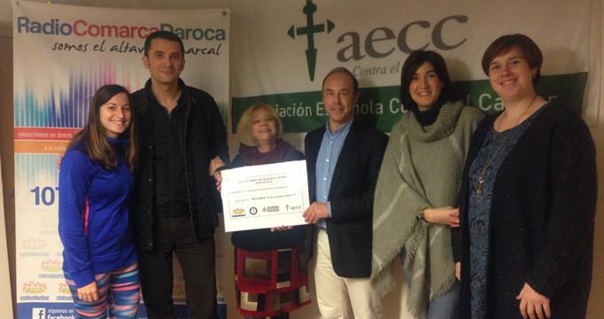 La Comarca de Daroca dona la recaudación de las Jornadas de Navidad a la AECC