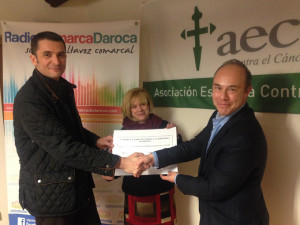 donacion campaña comarca de daroca aecc