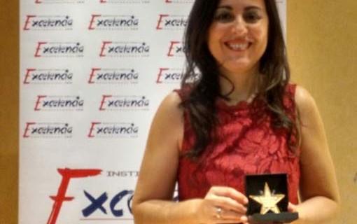 Marian Gil, premiada con la 'Estrella de Oro' por su excelencia profesional