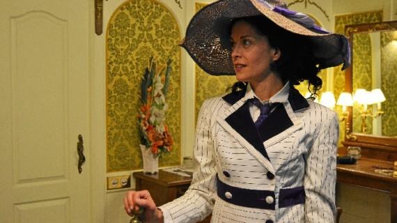 Zaragoza revive la historia de amor de la que fue testigo el Titanic con una serie de visitas teatralizadas