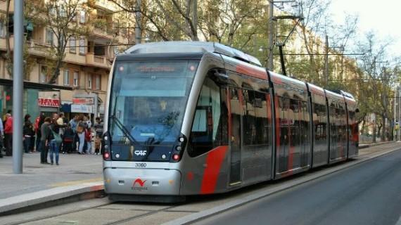 El Tranvía de Zaragoza mantendrá su servicio en los horarios habituales