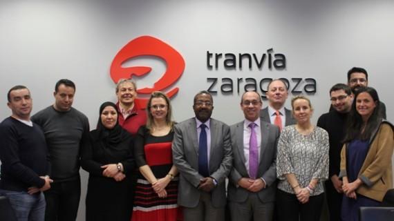 El Ministerio de Transportes de Argelia se interesa por el Tranvía de Zaragoza