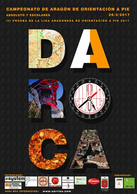 Llega a Daroca la tercera prueba de la Liga de Orientacion a Pie Aragonesa