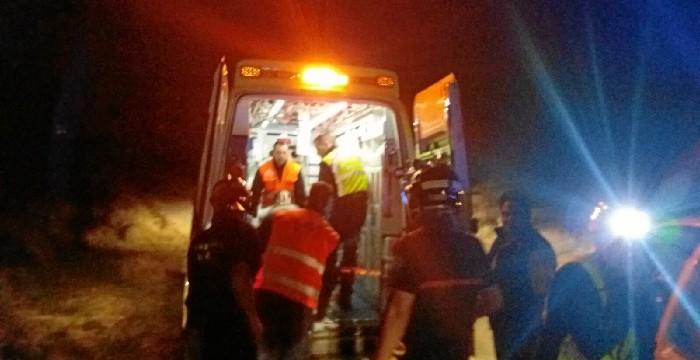Una menor rescatada tras sufrir una fractura en un monte de Fréscano