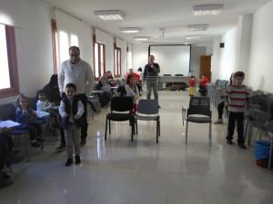 Actividad en el taller de padres y madres.