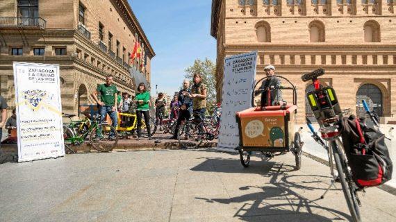 Zaragoza acoge a finales de abril el encuentro internacional 'La Ciudad de las Bicis'