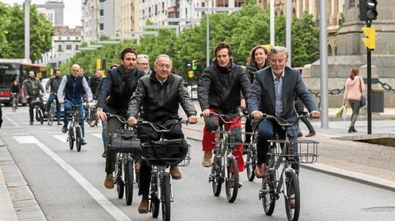 Zaragoza, capital internacional de las bicis